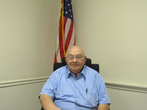 Mr. Rollo Vecchio, Pitcairn Borough Council President