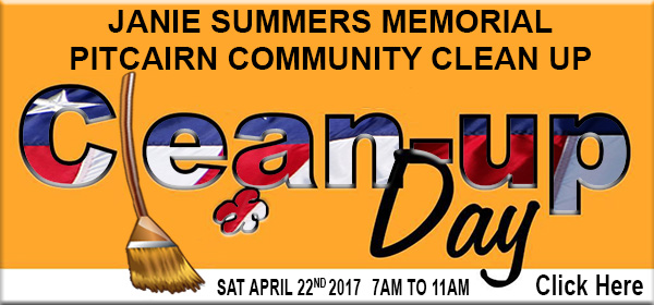 Pitcairn Annual Clean Up Day